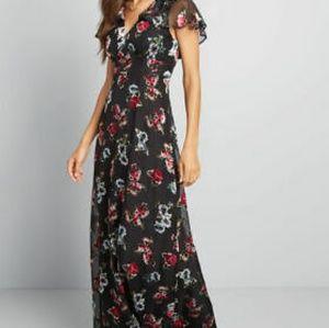 Anna Sui Modcloth Maxi Dress